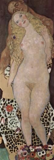 Gustav Klimt. Adão e Eva. 1917-18.