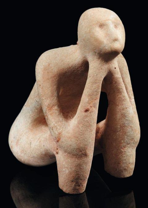 O Pensador de Cernavoda, 5000-4500 ac. Balcãs
