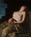 09. Artemisia Gentileschi – Madalena desmaiada, ca 1653.