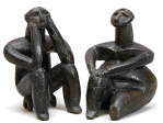 Fig 04. Seated man and woman, from Cernavoda, Romania. Ca. 4000-3500 BCE