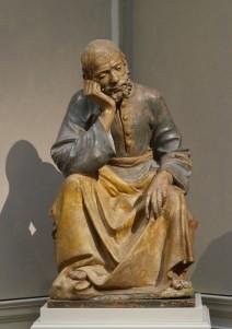 Fig 06. Saint Joseph ca. 1475-1500. Terracotta, polychrome Tuscany, Italy