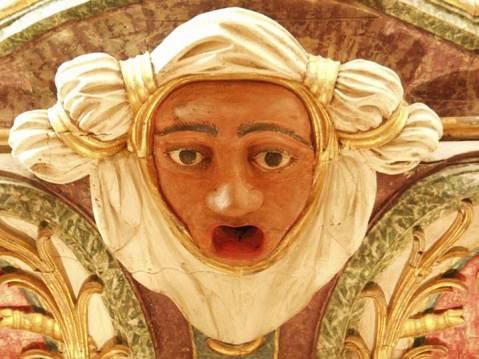 Figura órgão de Tibães 2