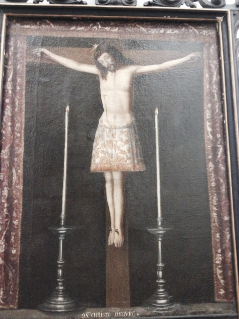 01. Cristo. Igreja da Irmandade das Almas de S. José das Taipas. Porto.