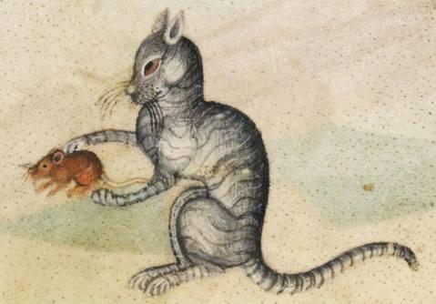 Luttrell Psalter, England ca. 1325-1340 (British Library, Add 42130, fol. 190r)