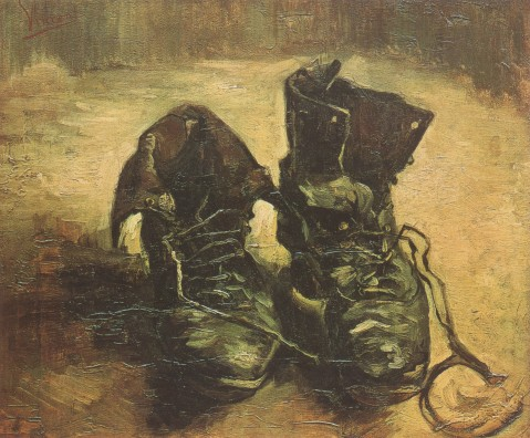 Vincent Van Gogh. A Pair of Shoes, Paris, 1886.