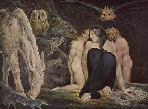 William_Blake. The Night of Enitharmon's Joy, 1795. Blake's.
