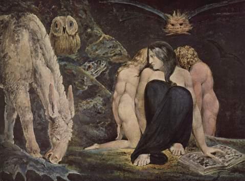 William_Blake. The Night of Enitharmon's Joy, 1795. Blake's.