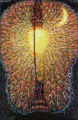 02. Giacomo Balla, Lampada ad arco, olio su tela, 1909.