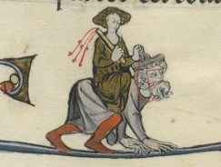 01. Phyllis riding Aristotle. 13th c.