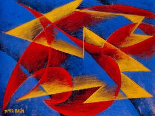 06. Giacomo Balla. Line of speed. 1913.