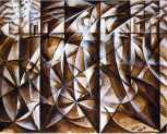 09. Giacomo Balla. Velocity of cars and light. 1913.