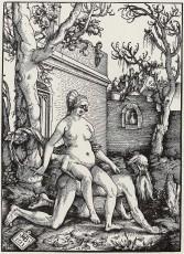 09. Hans Baldung Grien, Aristóteles e Filis. 1513.