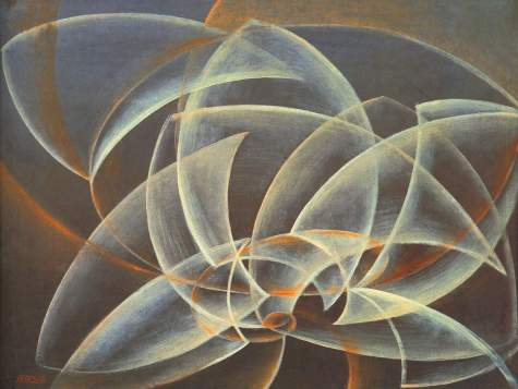 11. Giacomo Balla. Vortex space form. 1914.