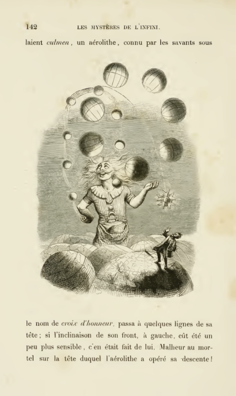 11. J.J. Grandeville. Jongleur des univers.