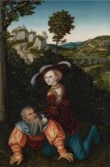 15. Lucas Cranach_o Velho. Fílis e Aristóteles. 1530.