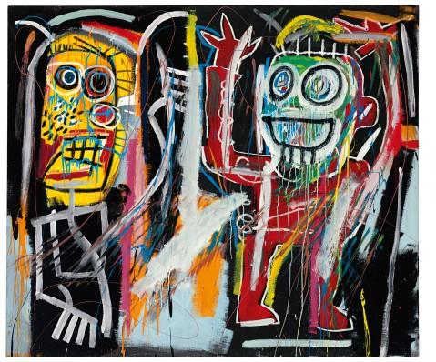 Jean-Michel Basquiat. Dustheads. 1982.
