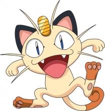 Meowth. Pokémon.