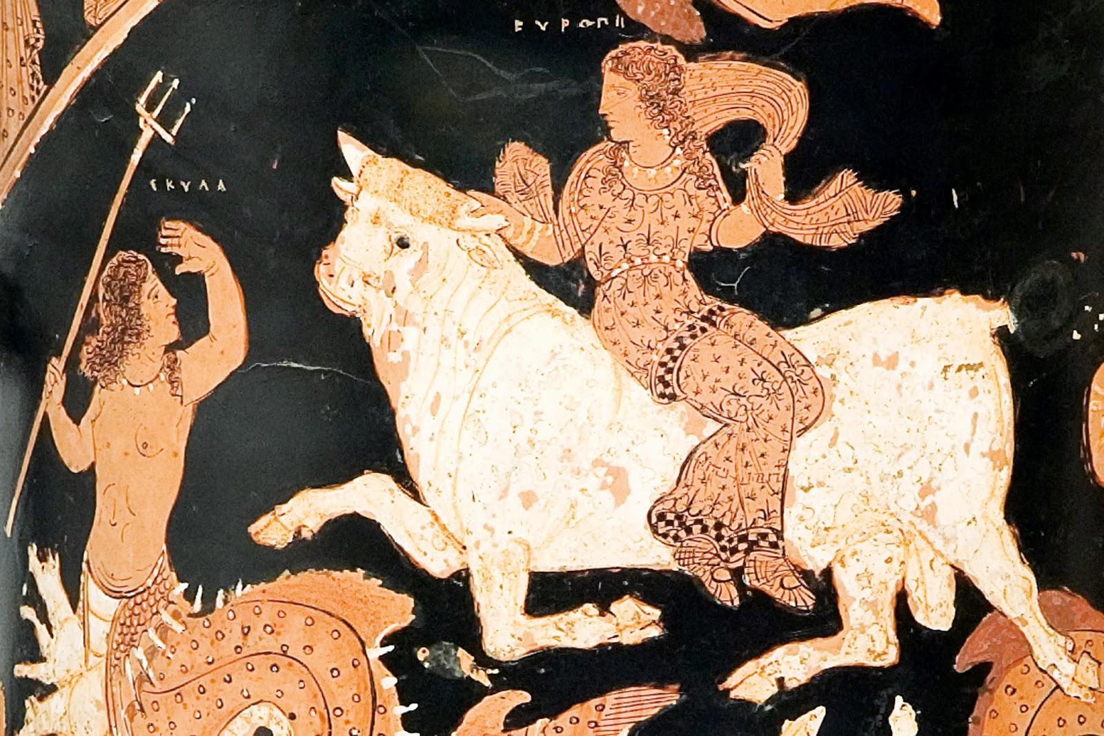 O Rapto de Europa,  c. 340 a.C.