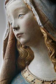 Notre-Dame de Grasse, Musée des Augustins, séc. XV. Pormenor.