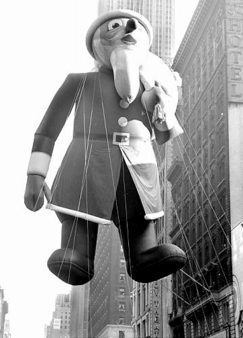 Santa. Macy's Thanksgiving Day Parade. 1939.