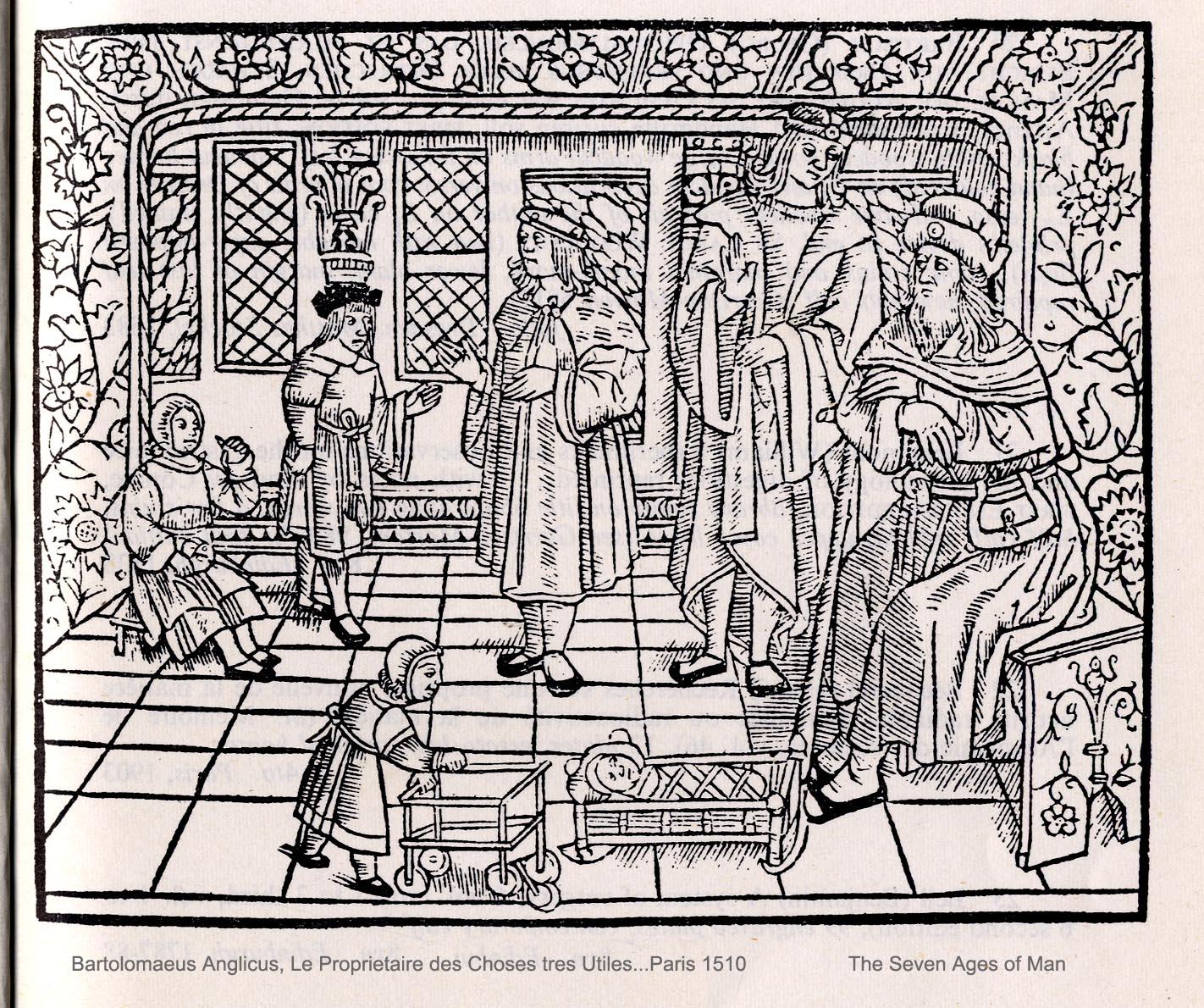 10. Bartolomeus Anglicus. As sete idades do homem. 1510.
