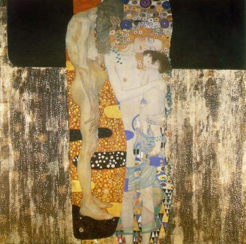 Gustav Klimt. As três idades da Mulher. 1905.