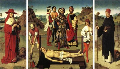 dieric-bouts-martyrdom-of-st-erasmus-triptych-1458
