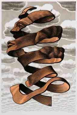 M. C. Escher. Ring. 1955.