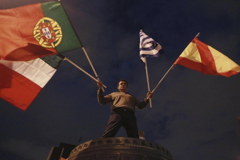 Portugal, Espanha, Itália e Grécia
