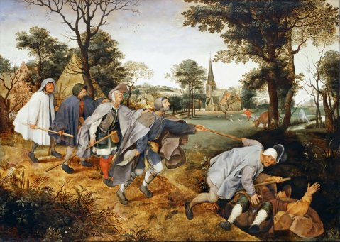The Blind Leading the Blind, Pieter Brueghel the Elder, 1568.