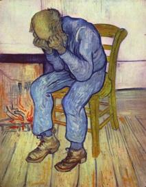 Vincent Van Gogh. No limiar da eternidade. 1890 ( ano de sua morte).