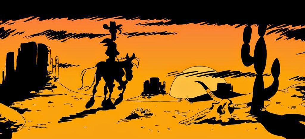 Lucky Luke. O cow-boy solitário.