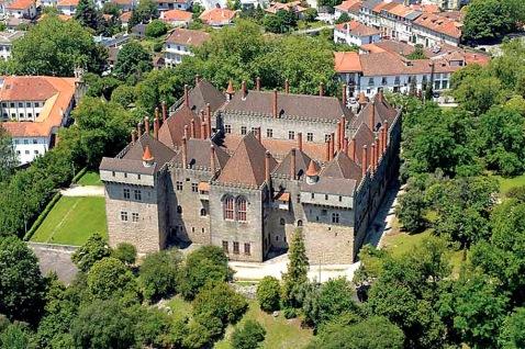 Paço dos Duques de Bragança. Guimarães.
