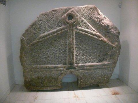 Pedra Formosa da Citânia de Briteiros. Museu da Cultura Castreja. Sociedade Martins Sarmento.