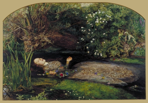Sir John Everett Millais Ophelia 1851-2