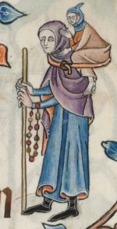 The Luttrell Psalter, British Library. 1325-1340.