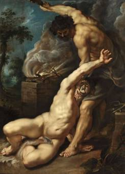 Peter Paul Rubens. Cain slaying Abel. 1609.