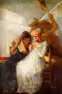 Goya. As Velhas ou O Tempo, c. 1810-12