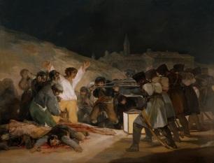 15. Goya. O Fuzilamento de 3 de Maio de 1808. 1814.