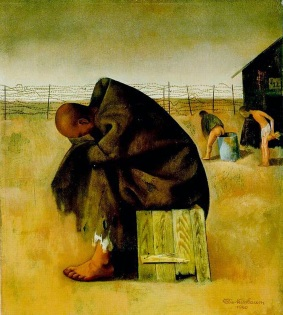 16 Felix Nussbaum. Prisoner, 1940.