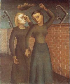 18 Felix Nussbaum - Women Lamenting 1941
