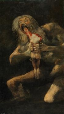 18. Goya. Saturno. 1820-1823