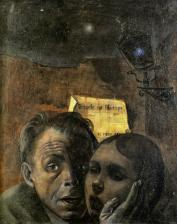 20 Felix Nussbaum. Fear (also known as Self-Portrait with His Niece Marianna). 1941