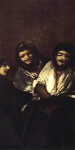 20. Goya. Mulheres rindo. 1819-1823