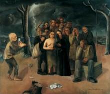 22 Felix Nussbaum. The Storm (The Exiles), 1941