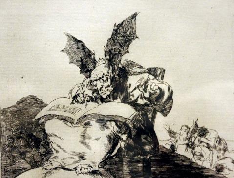 31. Goya. Desastres da guerra. Nº 71. Contra o bem geral, c. 1814-15