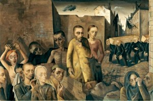35 Felix Nussbaum. The damned. 1943
