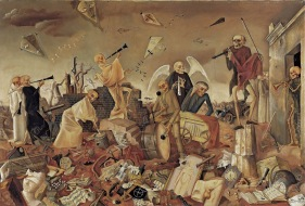 41 Felix Nussbaum. Triumph of Death . 1944