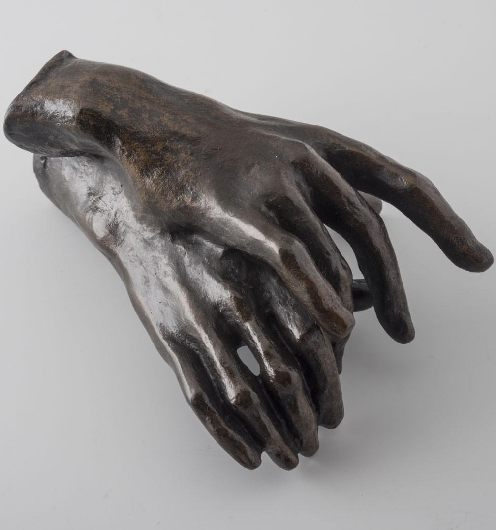 Auguste Rodin. Mains enlacées. 1908