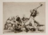 Goya. Desastres da guerra 3. Lo mismo